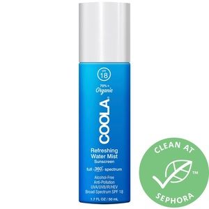 Coola Refreshing Water Mist Sunscreen SPF 18